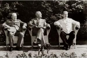 «Большая тройка» на потсдамской конференции. Июль - август 1945 г.