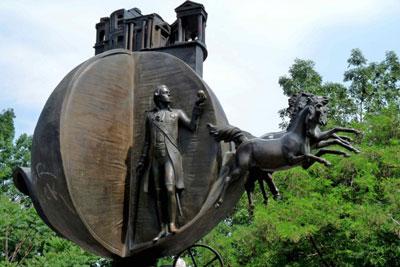 Памятник апельсину - памятник взятке
