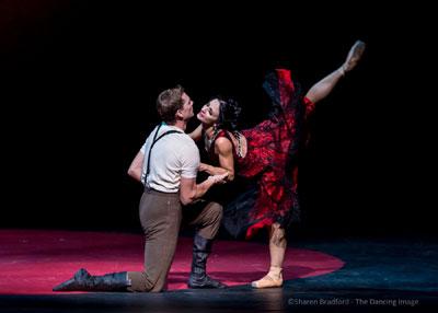 Leticia Oliveira и Carl Coomer: «Кармен». Фото Sharen Bradford